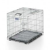 Savic Dog Residence med kudde - Storlek S: B 53 x D 76 x H 61 cm