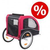 Kanonpris: Trixie cykelvagn - L 145 x B 75 x H 86 cm / upp till 30 kg