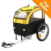 Mini Bee cykelvagn för hundar - L 105 x B 58 x H 73 cm