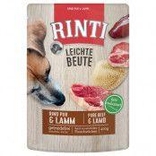 RINTI Leichte Beute portionspåse 10 x 400 g - Nötkött pur