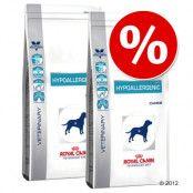 Ekonomipack: 2 påsar Royal Canin Vet Diet hundfoder till lågt pris! - Hypoallergenic DR 21 (2 x 14 kg)