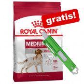 En stor påse Royal Canin Size + fästingplockare på köpet! - Giant Junior Active (15 kg)
