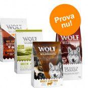 "PROVA TILL KANONPRIS: Wolf of Wilderness Adult i blandpack - """"Elements"""" mix (4 x 1 kg)"