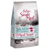 Purizon Single Meat Adult Salmon & Spinach - spannmålsfritt - 12 kg