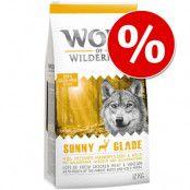 100 kr Black Week- rabatt! 12 kg Wolf of Wilderness Elements Fiery Volcanoes - Lamb