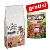 7 kg Purina Beyond Grain Free + 5 x 90 g AdVENTuROS Nuggets på köpet! - Beef