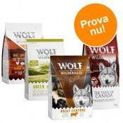 "Blandpack till sparpris! Wolf of Wilderness Adult - """"Classic"""" 3 sorter (3 x 1 kg)"