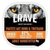 Crave Adult Dog Paté - 1 x 150 g Turkey & Chicken