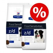 Ekonomipack: 2 eller 3 påsar Hill's Prescription Diet Canine - Diet Derm Defense Skin Care (2 x 12 kg)