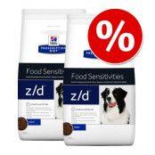 Ekonomipack: 2 eller 3 påsar Hill's Prescription Diet Canine - t/d Mini Dental Care (3 x 3 kg)