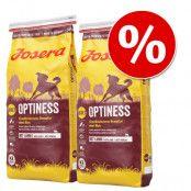 Ekonomipack: 2 x 15 eller 3 x 4 kg Josera hundfoder - Blandpack: Balance, Sensiplus