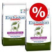 Ekonomipack: 2 x 7,5 / 12,5 kg Exclusion Diet Hypoallergen torrfoder Hypoallergenic Horse & Potato (2 x 12 kg)