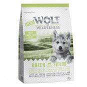 Little Wolf of Wilderness Junior - Green Fields Lamb - 12 kg