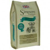 Simpsons Premium Adult Sensitive Lamb & Potato - Ekonomipack: 2 x 12 kg