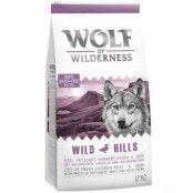 Wolf of Wilderness Wild Hills - Duck - 1 kg