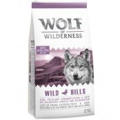 Wolf of Wilderness Wild Hills - Duck - Ekonomipack: 2 x 12 kg
