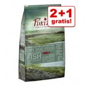 2 + 1 på köpet! 3 x 1 kg Purizon torrfoder för hund - Adult Chicken & Fish