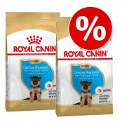 Ekonomipack: 2 / 3 påsar Royal Canin Breed Puppy / Junior German Shepherd Puppy (2 x 12 kg)