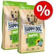 Ekonomipack: 2 stora påsar Happy Dog NaturCroq - Classic Flakes (2 x 10 kg)