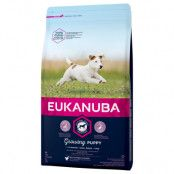 Eukanuba Growing Puppy Small Breed Chicken - 3 kg