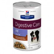Hill's Prescription Diet i/d Digestive Care Low Fat Stew hundfoder med kyckling  - Ekonomipack: 24 x 354 g