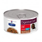 Hill's Prescription Diet i/d Digestive Care Stress Mini Stew hundfoder - kyckling - 24 x 156 g