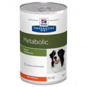 Hill's Prescription Diet Metabolic Weight Management hundfoder - kyckling - 12 x 370 g