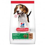 Hill's Science Plan Puppy <1 Medium Lamb & Rice 18 kg