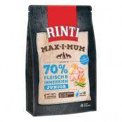 Rinti Max-i-mum Junior Kyckling - Ekonomipack: 2 x 4 kg