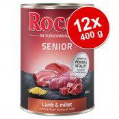 Rocco Senior 12 x 400 g - Lamm & hirs