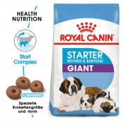 Royal Canin Giant Starter Mother & Babydog - Ekonomipack: 2 x 15 kg