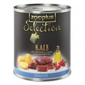 zooplus Selection Junior Kalv - 6 x 400 g