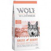 Wolf of Wilderness Adult Great Desert - Turkey - Ekonomipack: 2 x 12 kg