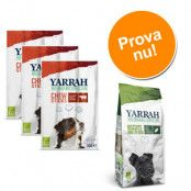 Blandpack: 2 sorters Yarrah Organic hundgodis - 250 g kex + 3 x 33 g tuggpinnar