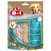 8in1 Delights Pro Dental Twisted Sticks - 75 g