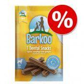 Barkoo Dental Snacks till specialpris! - Stora hundar (7 st)