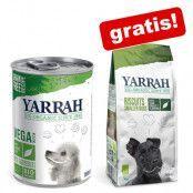 12 x Yarrah Organic + 250 g Organic hundkex på köpet! - Chunks Vega (12 x 380 g)