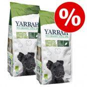 2 x Yarrah Organic hundgodis till sparpris! - 2 x 3 Chew Sticks