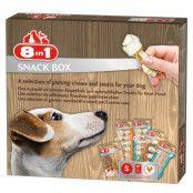 8in1 snackbox - Ekonomipack: 2 x - stl. L (2 x 414 g)