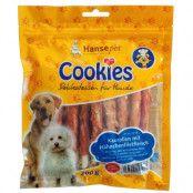 Cookie's Delikatess tuggrullar med kycklingfiléstrimlor - 3 x 200 g