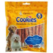 Cookie's Delikatess tuggrullar med kycklingfiléstrimlor - 5 x 200 g