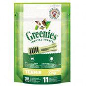 Ekonomipack: Greenies tandvårdsgodis 3 x 85 g / 170 g / 340 g - Teenie (3 x 170 g / 66 st)