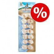 Sparpris! Barkoo Deli Bones Dental, knutna - M 6 st à 14 cm (420 g)