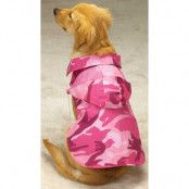 Camo Jacket Pink - Hundtäcke - XXS