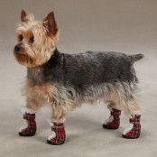 ESC Tartan Boots - Röd - Medium