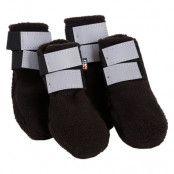 Rukka® hundskor i fleece, svarta - Stl. 6