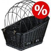 10% rabatt! Trixie cykelkorg med galler - L 55 x B 35 x H 49 cm