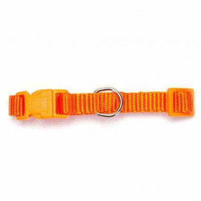 Nylon Halsband Orange