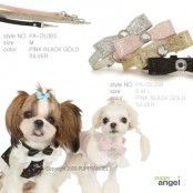 Sparkling Bow Halsband