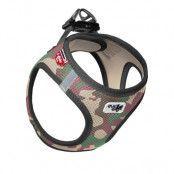 Curli Vest Air-Mesh sele - camouflage - Stl. 2XS: 30 - 35 cm bröstomfång